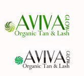 AVIVA Glow - Organic Spray Tan & Lash Logo - Entry #8