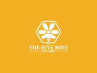 The Hive Mind Apiary Logo - Entry #39
