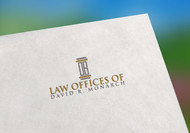 Law Offices of David R. Monarch Logo - Entry #132