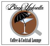 Black umbrella coffee & cocktail lounge Logo - Entry #121