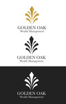 Golden Oak Wealth Management Logo - Entry #12