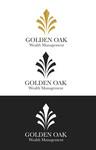 Golden Oak Wealth Management Logo - Entry #12