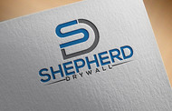 Shepherd Drywall Logo - Entry #120