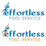 Effortless Pool Service Logo - Entry #54