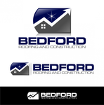 Bedford Roofing and Construction Logo - Entry #100