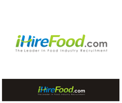 iHireFood.com Logo - Entry #104