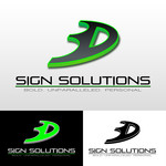 3D Sign Solutions Logo - Entry #135