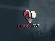 Four love Logo - Entry #122