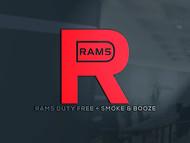 Rams Duty Free + Smoke & Booze Logo - Entry #203