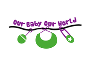 Logo for our Baby product store - Our Baby Our World - Entry #37
