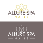 Allure Spa Nails Logo - Entry #186