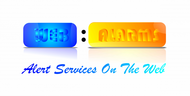 Logo for WebAlarms - Alert services on the web - Entry #116