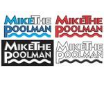 Mike the Poolman  Logo - Entry #30