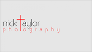 Nick Taylor Photography Logo - Entry #88