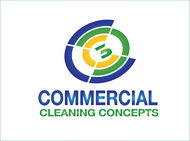 Commercial Cleaning Concepts Logo - Entry #27