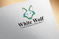 White Wolf Consulting (optional LLC) Logo - Entry #120