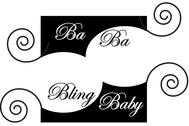 Ba Ba Bling baby Logo - Entry #56