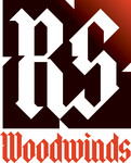 Woodwind repair business logo: R S Woodwinds, llc - Entry #59