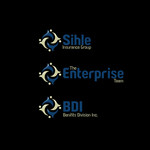 "A combination of the names ""The Enterprise Team"" and ""Benefits Division, Inc."" such as The Benefit Team or The Enterprise Division. Logo - Entry #65"