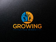 Growing Little Minds Early Learning Center or Growing Little Minds Logo - Entry #15