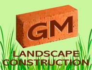 GM Landscape Construction Logo - Entry #35