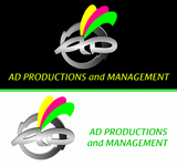 Corporate Logo Design 'AD Productions & Management' - Entry #151