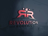 Revolution Roofing Logo - Entry #387