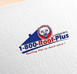 1-800-Roof-Plus Logo - Entry #37
