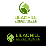 Lilac Hill Greenhouse Logo - Entry #79