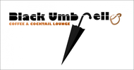 Black umbrella coffee & cocktail lounge Logo - Entry #73