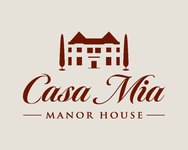 Casa Mia Manor House Logo - Entry #16