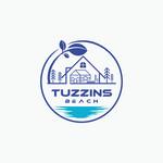 Tuzzins Beach Logo - Entry #243