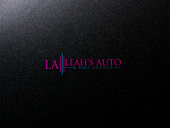 Leah's auto & nail lounge Logo - Entry #159