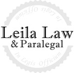 Leila Law Logo - Entry #16
