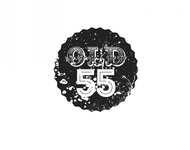 """""""OLD 55"""" - mid-century vintage furniture and wares store Logo - Entry #53"""
