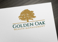 Golden Oak Wealth Management Logo - Entry #186
