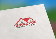 Revolution Roofing Logo - Entry #52