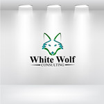 White Wolf Consulting (optional LLC) Logo - Entry #119