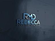 Rebecca Munster Designs (RMD) Logo - Entry #187