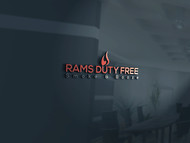 Rams Duty Free + Smoke & Booze Logo - Entry #220