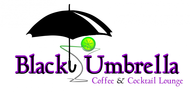 Black umbrella coffee & cocktail lounge Logo - Entry #41