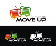 Move Up TV Training  Logo - Entry #100