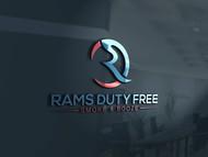 Rams Duty Free + Smoke & Booze Logo - Entry #65