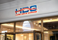 Hard drive garage Logo - Entry #253