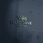Hard drive garage Logo - Entry #87