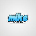 Mike the Poolman  Logo - Entry #58