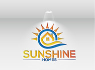 Sunshine Homes Logo - Entry #96