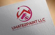 uHate2Paint LLC Logo - Entry #21