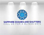 Sapphire Shades and Shutters Logo - Entry #91