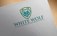 White Wolf Consulting (optional LLC) Logo - Entry #199